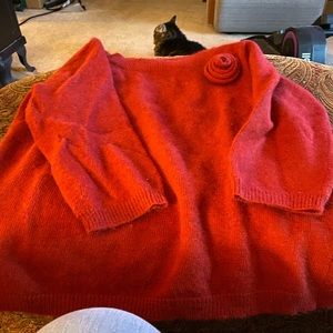 Red Axcess sweater